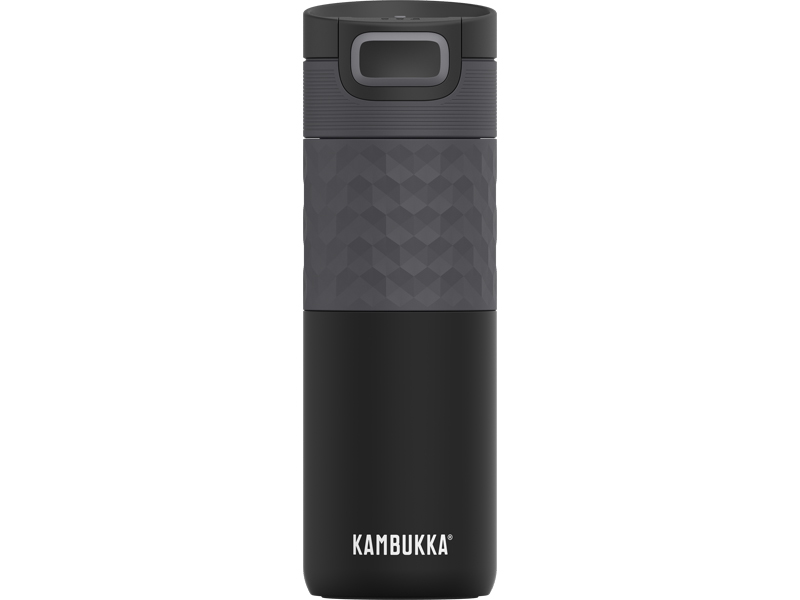 Termohrnek Etna Grip 500 ml Black Steel