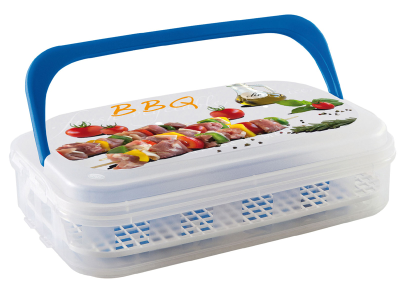 Chladící maxi box barbecue