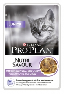 PRO PLAN CAT JUNIOR krůta kapsička 24x85g