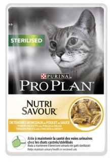 PRO PLAN CAT STERILISED Kuře kapsička 24x85g